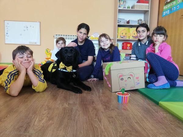 """Likovna radionica """"Poklon za Bellu"""" u Vukovarskim leptirićima"""