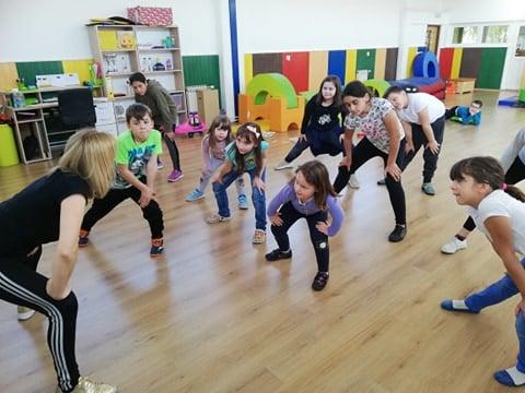 Plesna radionica u Vukovarskim leptirićima