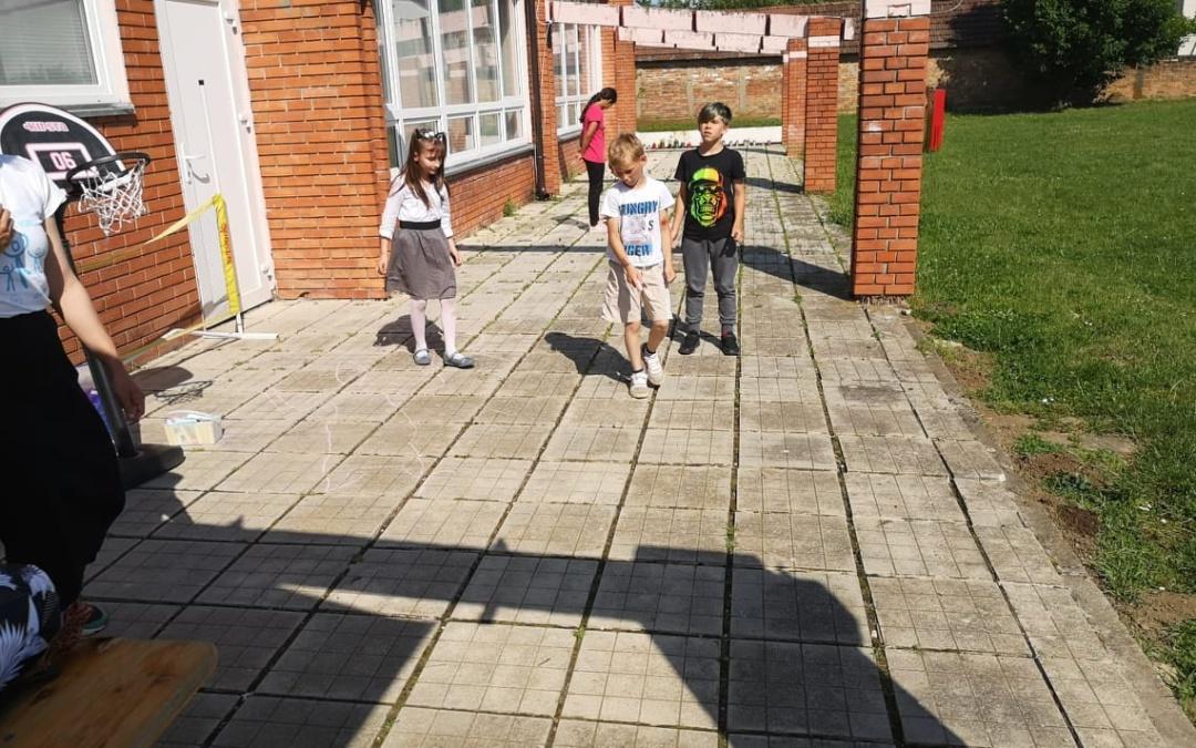 """Likovna radionica """"Moja sjena""""  u Vukovarskim leptirićima"""